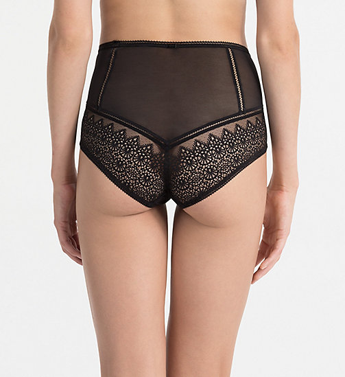 CALVINKLEIN High Waist Hipsters - CK Black Enamored - BLACK - CALVIN KLEIN HIPSTER PANTIES - detail image 1