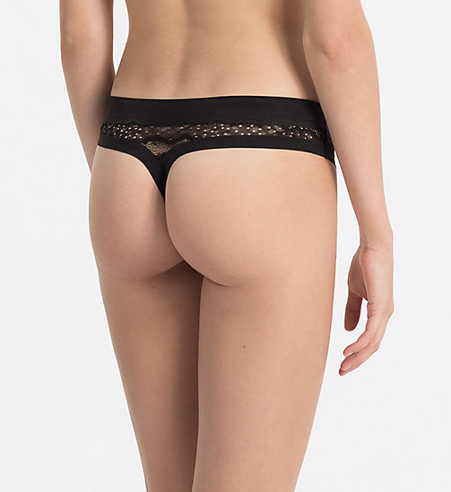 CALVINKLEIN Thong - CK Black Electric - BLACK - CALVIN KLEIN THONGS - detail image 1