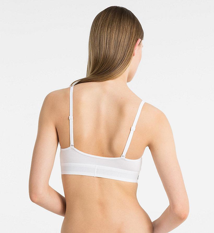 Calvin Klein - Triangel-BH - Monogram - 2
