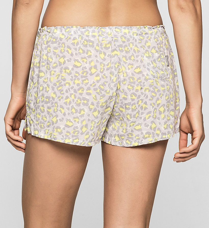 CALVINKLEIN PJ Shorts - DYNAMICAL LEOPARD - CALVIN KLEIN WOMEN - detail image 1