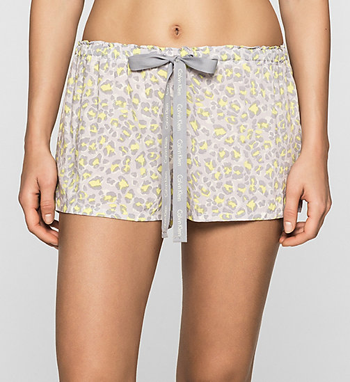 CALVINKLEIN PJ Shorts - DYNAMICAL LEOPARD - CALVIN KLEIN SHORTS - main image