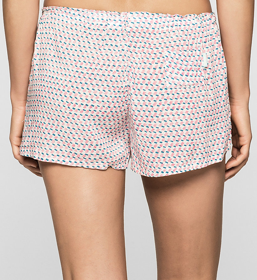 CALVINKLEIN PJ Shorts - LAYERED RECTANGLES - CALVIN KLEIN WOMEN - detail image 1