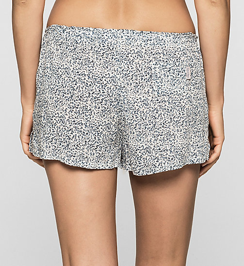CALVINKLEIN PJ-Shorts - LAYERED ABSTRACT - CALVIN KLEIN SHORTS - main image 1