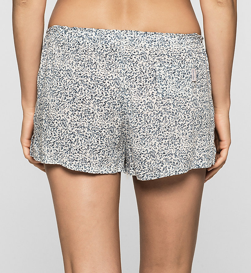 CALVINKLEIN PJ Shorts - LAYERED ABSTRACT - CALVIN KLEIN WOMEN - detail image 1