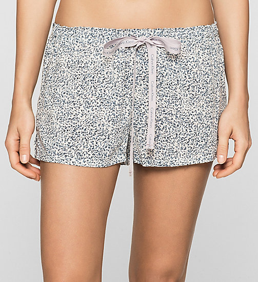 CALVINKLEIN PJ-Shorts - LAYERED ABSTRACT - CALVIN KLEIN SHORTS - main image