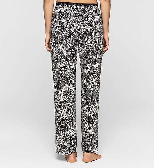 CALVINKLEIN Pants - ANARCHY PRINT_WHITE - CALVIN KLEIN NEW ARRIVALS - detail image 1