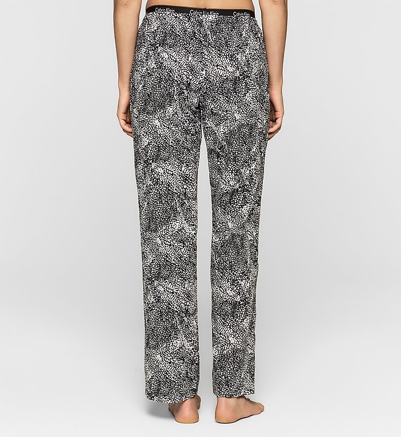 CALVINKLEIN Pants - ANARCHY PRINT_WHITE - CALVIN KLEIN TROUSERS - detail image 1
