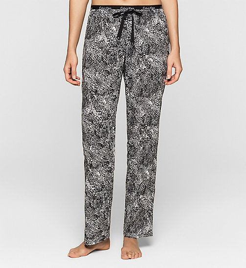 CALVINKLEIN Pants - ANARCHY PRINT_WHITE - CALVIN KLEIN NEW ARRIVALS - main image