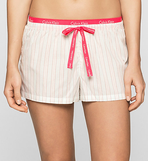 CALVINKLEIN PJ-Shorts - CURRENT STRIPE - CALVIN KLEIN SHORTS - main image