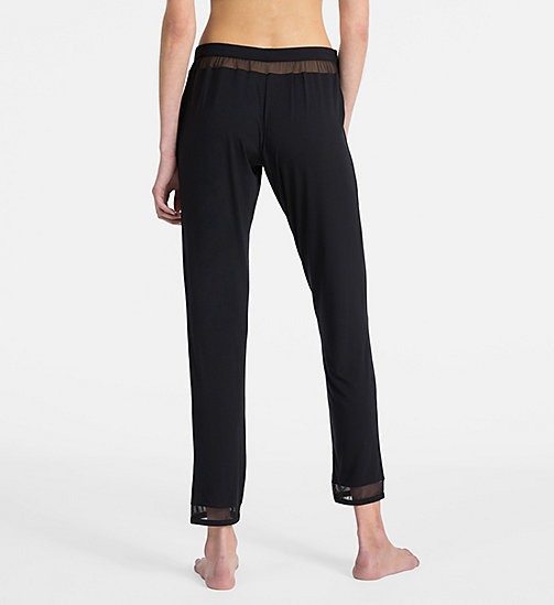 CALVINKLEIN PJ Pants - Naked Touch - BLACK - CALVIN KLEIN PYJAMA BOTTOMS - detail image 1