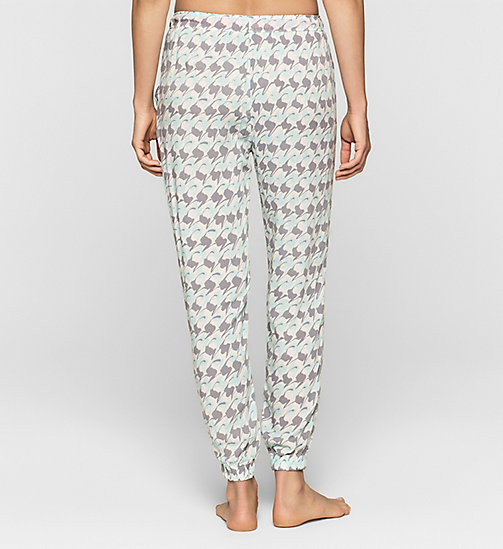 CALVINKLEIN Sweatpants - ABSTRACT HOUNDSTOOTH - CALVIN KLEIN  - detail image 1