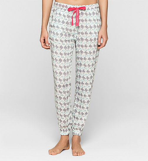 CALVINKLEIN Pantalon de survêtement - ABSTRACT HOUNDSTOOTH - CALVIN KLEIN  - image principale