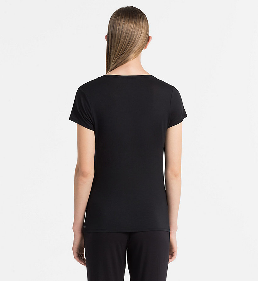 CALVINKLEIN Top - Cotton Luxe - BLACK - CALVIN KLEIN CLOTHING - detail image 2