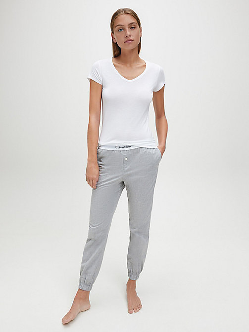 CALVINKLEIN Top - Cotton Luxe - WHITE - CALVIN KLEIN PYJAMA TOPS - detail image 1