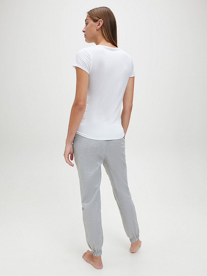 CALVINKLEIN Top - Cotton Luxe - WHITE - CALVIN KLEIN CLOTHING - detail image 2