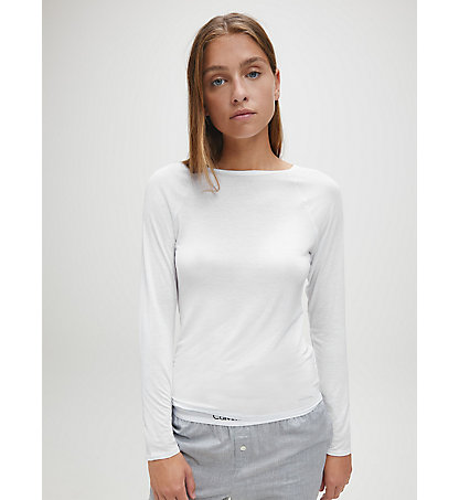 CALVIN KLEIN Top - Cotton Luxe 000QS5493E100