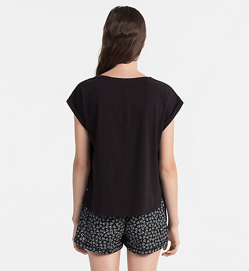 CALVINKLEIN PJ Top - Shift - BLACK - CALVIN KLEIN NEW ARRIVALS - detail image 1
