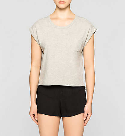 CALVIN KLEIN Cropped T-shirt - Shift 000QS5576E020