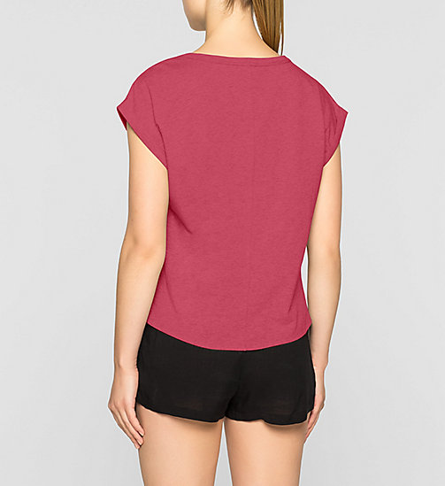 PJ-top - Shift - TRANSPINK - CALVIN KLEIN DAMES - detail image 1