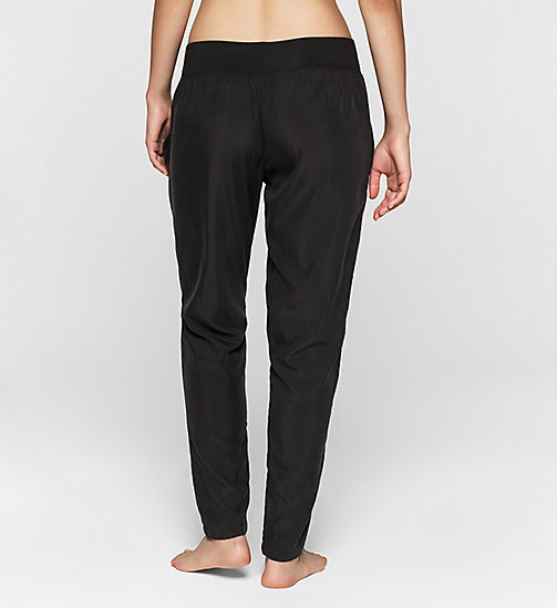 CALVINKLEIN Pants - Gloss - BLACK - CALVIN KLEIN PYJAMA BOTTOMS - detail image 1