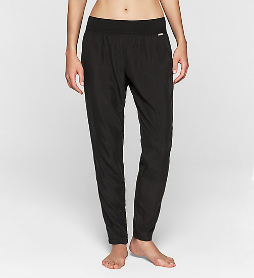 CALVINKLEIN Pants - Gloss - BLACK - CALVIN KLEIN NIGHTWEAR & LOUNGEWEAR - main image