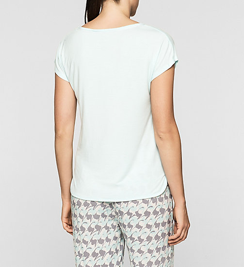 CALVINKLEIN Lace Trim Top - SALT LAKE - CALVIN KLEIN PYJAMA TOPS - detail image 1