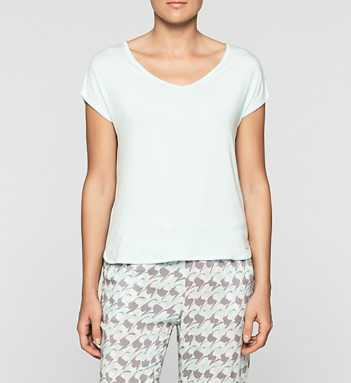 CALVINKLEIN Lace Trim Top - SALT LAKE - CALVIN KLEIN PYJAMA TOPS - main image