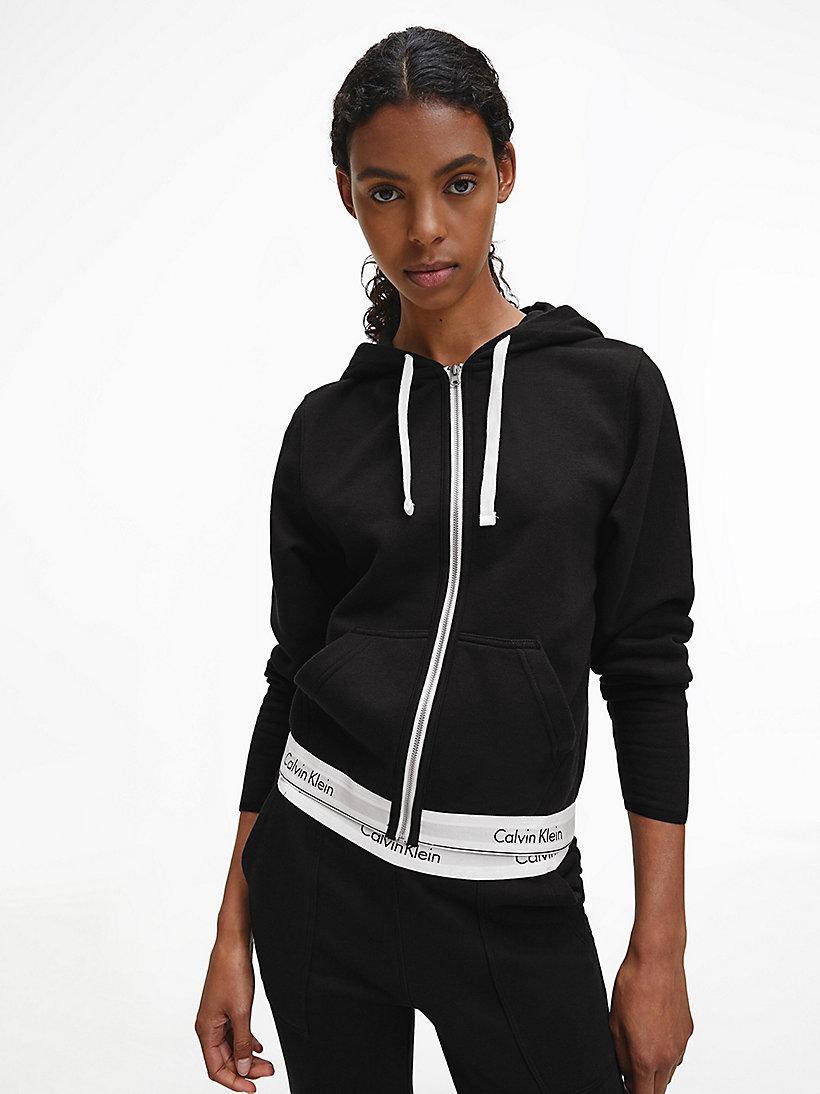 zip hoodie modern cotton calvin klein 000qs5667e. Black Bedroom Furniture Sets. Home Design Ideas