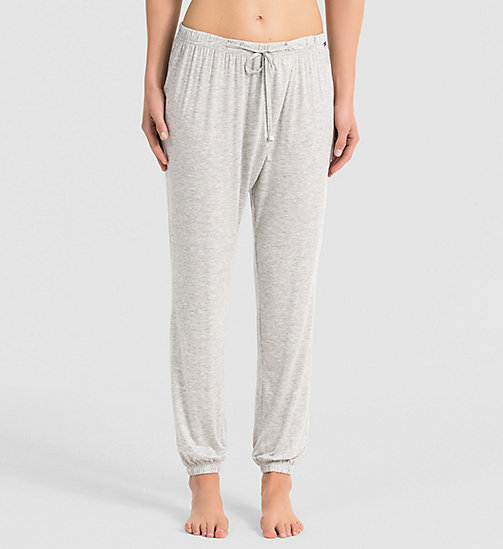 CALVINKLEIN Pants - Release - GREY HEATHER - CALVIN KLEIN  - main image