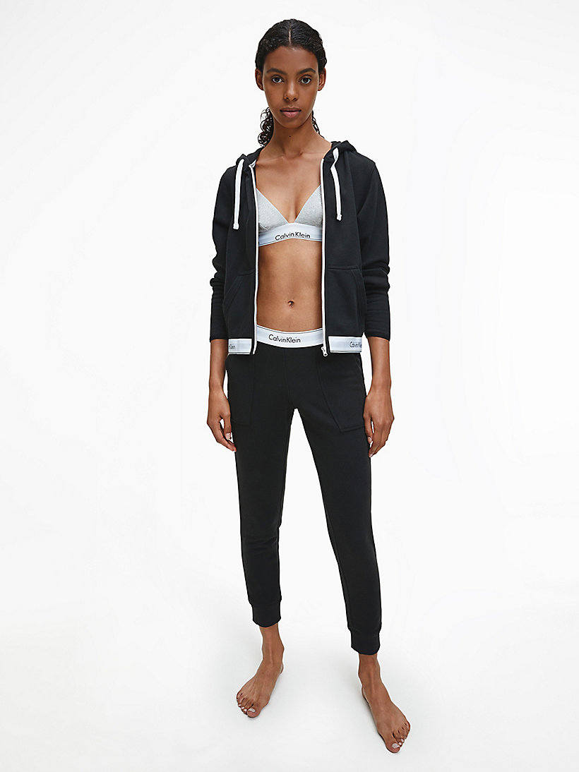 CALVINKLEIN Sweatpants - Modern Cotton - BLACK - CALVIN KLEIN WOMEN - detail image 1