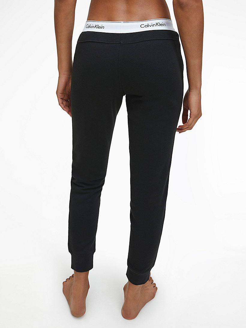 CALVINKLEIN Sweatpants - Modern Cotton - BLACK - CALVIN KLEIN WOMEN - detail image 2