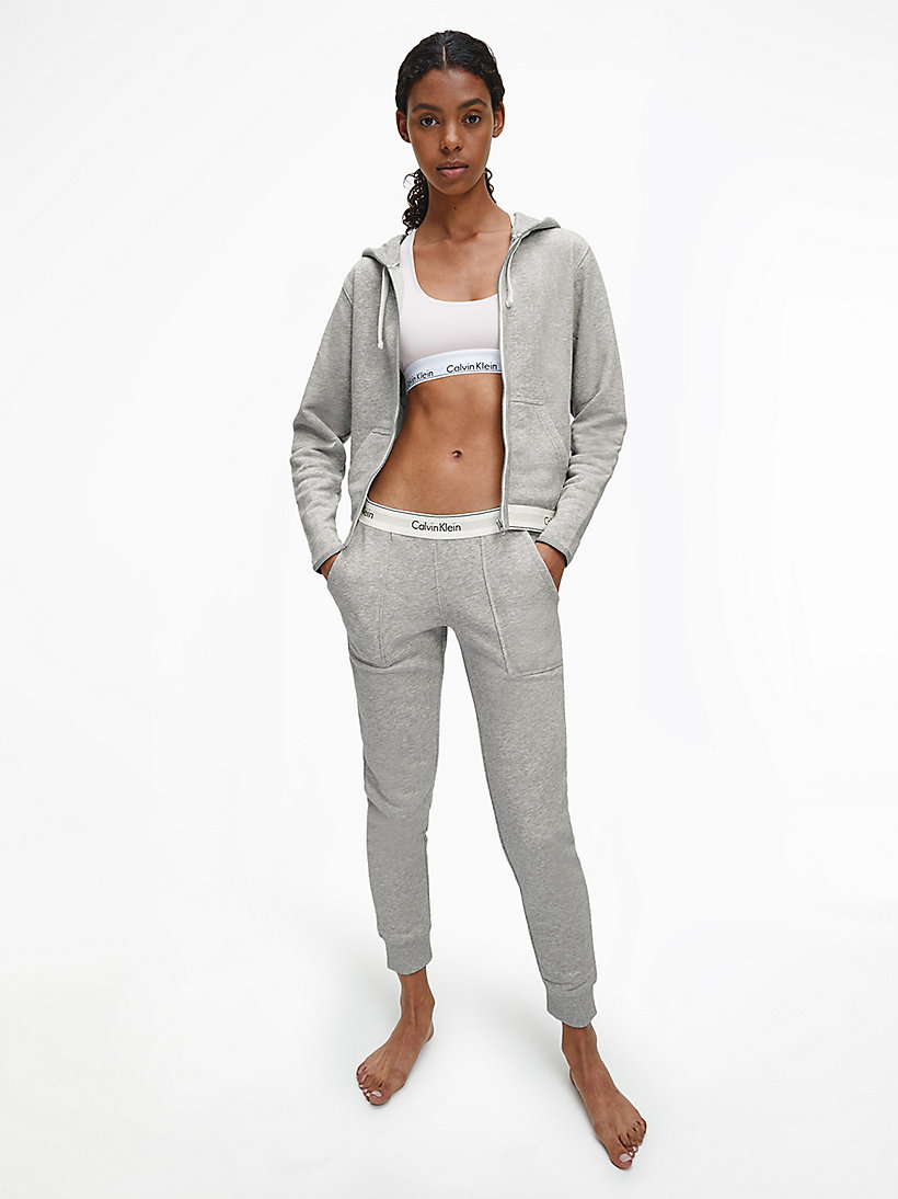 CALVINKLEIN Sweatpants - Modern Cotton - GREY HEATHER - CALVIN KLEIN TROUSERS - detail image 1
