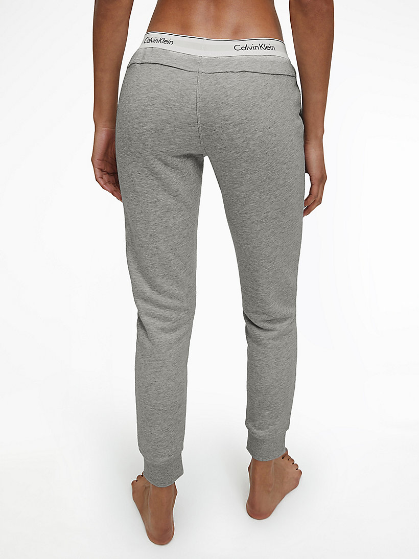 CALVINKLEIN Sweatpants - Modern Cotton - GREY HEATHER - CALVIN KLEIN TROUSERS - detail image 2