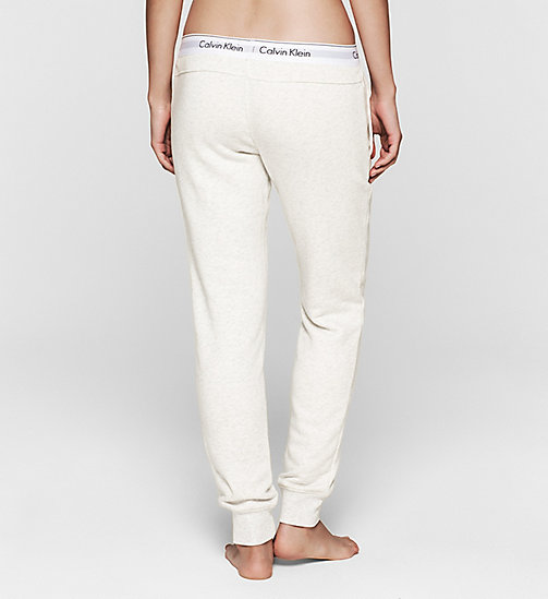 CALVINKLEIN Sweatpants - Modern Cotton - SNOW HEATHER - CALVIN KLEIN PYJAMA BOTTOMS - detail image 1