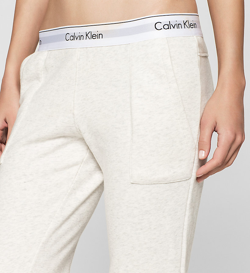 CALVINKLEIN Sweatpants - Modern Cotton - BLACK - CALVIN KLEIN TROUSERS - detail image 2