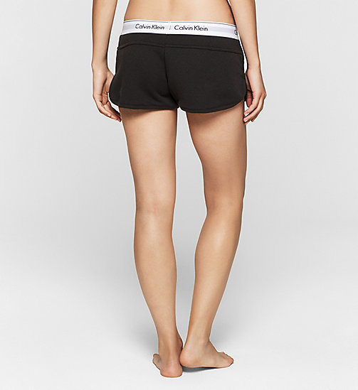 CALVINKLEIN Shorts - Modern Cotton - BLACK - CALVIN KLEIN NIGHTWEAR & LOUNGEWEAR - detail image 1