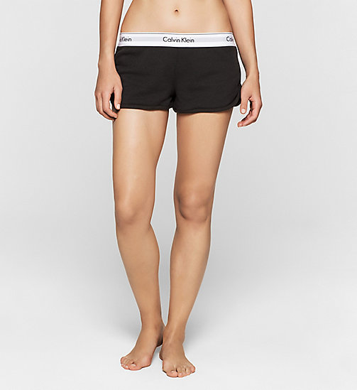 CALVINKLEIN Shorts - Modern Cotton - BLACK - CALVIN KLEIN NIGHTWEAR & LOUNGEWEAR - main image