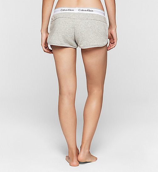 CALVINKLEIN Short - Modern Cotton - GREY HEATHER - CALVIN KLEIN  - image détaillée 1