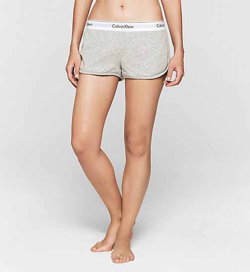 CALVINKLEIN Shorts - Modern Cotton - GREY HEATHER - CALVIN KLEIN SHORTS - main image