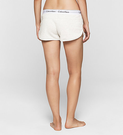 CALVINKLEIN Shorts - Modern Cotton - SNOW HEATHER - CALVIN KLEIN SHORTS - main image 1