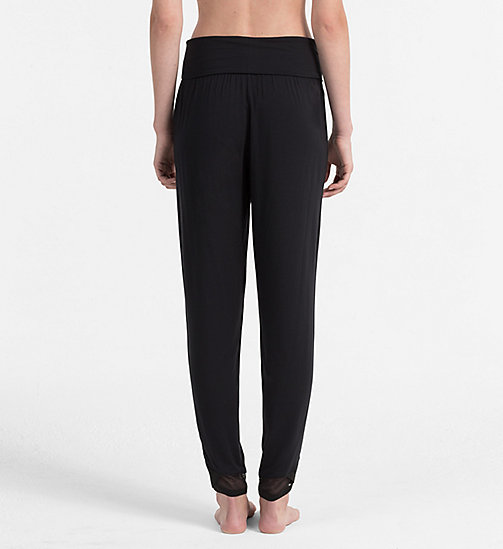 CALVINKLEIN PJ Pants - Sculpted - BLACK - CALVIN KLEIN PYJAMA BOTTOMS - detail image 1
