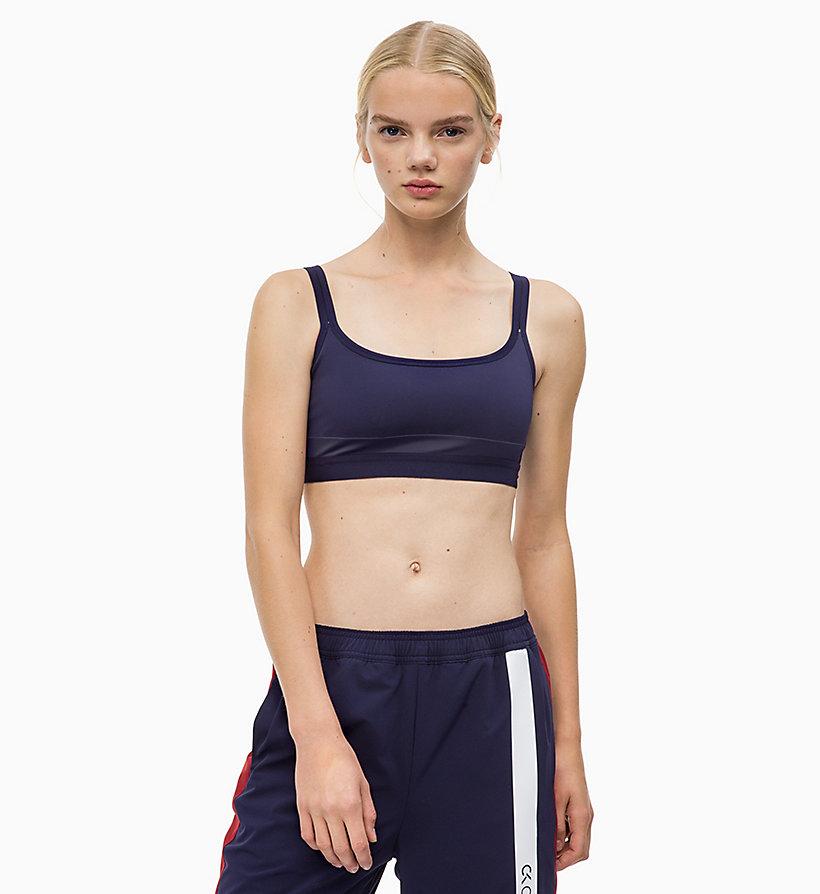 Calvin Klein - Sport-BH mit Trägern für leichten Halt - 1