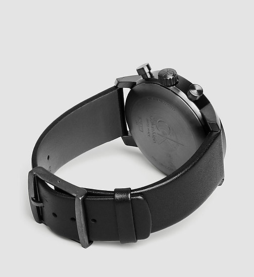 CALVINKLEIN Watch - Calvin Klein City - PVDGR BLACK / GREY - CALVIN KLEIN WATCHES - detail image 1