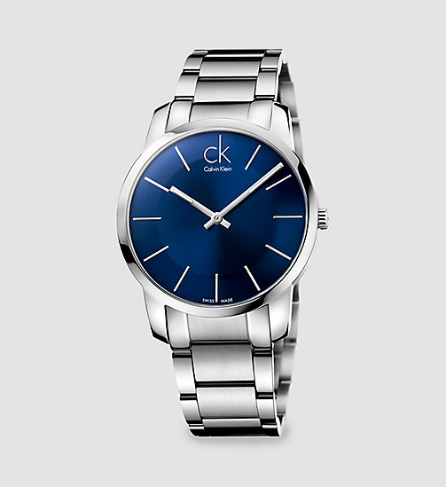 CALVINKLEIN Watch - Calvin Klein City - BLACK - CALVIN KLEIN WATCHES - main image