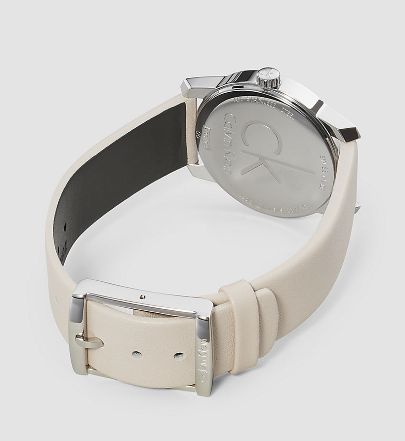 CALVINKLEIN Watch - Calvin Klein City - SST / BEIGE - CALVIN KLEIN SHOES & ACCESSORIES - detail image 1