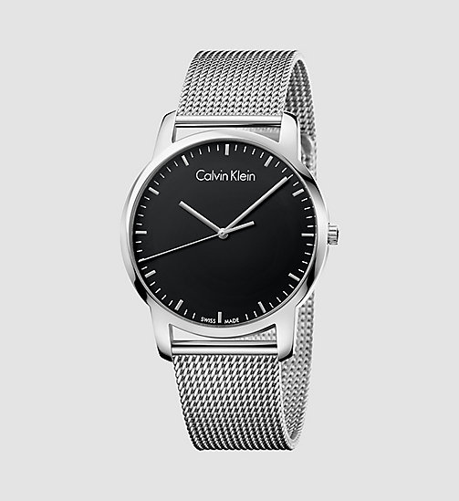 CALVINKLEIN City - BLACK/STAINLESS STEEL - CALVIN KLEIN WATCHES - main image