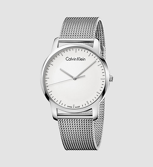 CALVINKLEIN Watch - Calvin Klein City - SILVER / STAINLESS STEEL - CALVIN KLEIN WATCHES - main image