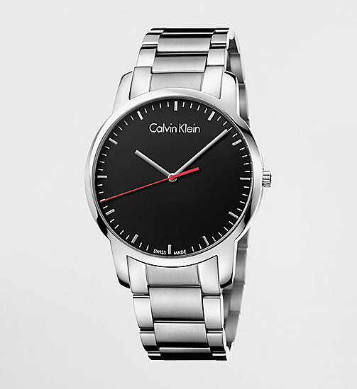 CALVINKLEIN CITY - BLACK / STAINLESS STEEL - CALVIN KLEIN WATCHES - main image