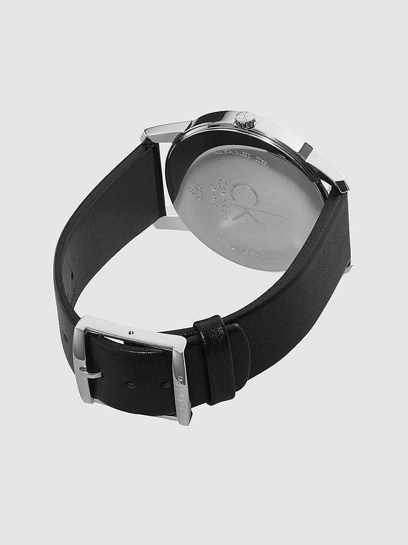 CALVINKLEIN Watch - Calvin Klein City - SST / BLACK / BLACK - CALVIN KLEIN SHOES & ACCESSORIES - detail image 1