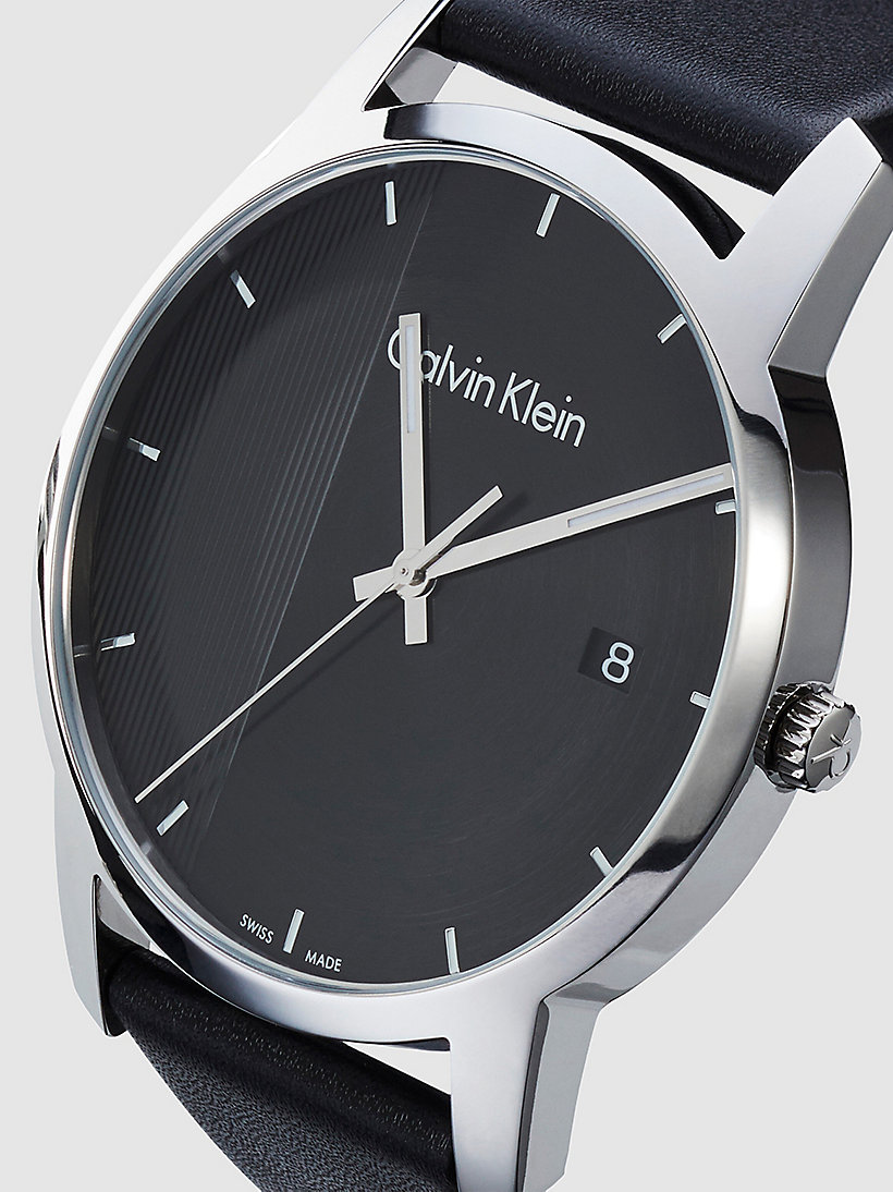 CALVINKLEIN Watch - Calvin Klein City - SST / BLACK / BLACK - CALVIN KLEIN SHOES & ACCESSORIES - detail image 2